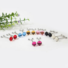 Lovely Diamante 6Pc Hijab Pin Clips Set Scarf Shawl Pins Brooch Mixed Colours