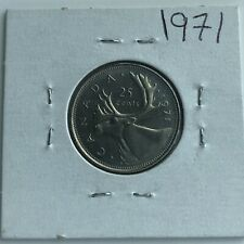 1971 CANADA 25 CENTS***Proof Like***HIGH GRADE***L@@K***Free S/H In Canada***