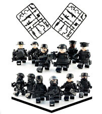 12 Pcs Police SWAT Mini Figures with Weapons Pack