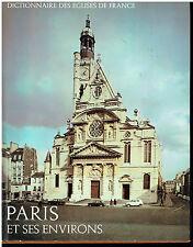 Dictionnaires des églises de France - Paris et ses environs  -Laffond -1968