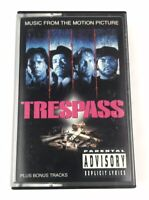 Trespass Original Soundtrack Parental Advisory Ice T Ice Cube Cassette Tape