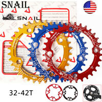 104bcd Mountain Bike Chainring Narrow Wide 32-42T Teeth Chainwheel Chain Guards