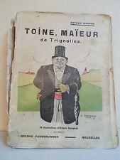 Toine, Maïeur - Arthur Masson + dédicasse de l'auteur - 1940 - 268 pages