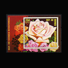Equatorial Guinea, Mi #BL247, Canceled, 1975, S/S, Roses, Flowers, Flora, FL253F