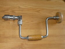 Vintage Foreign 10'' Hand Drill Brace