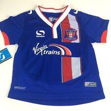 Sondico Carlisle FC Football Kids Infant T Shirt 2 - 3 Yrs Blue R242-20