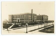 RPPC High School Mt MOUNTAIN IRON MN Vintage Real Photo Postcard
