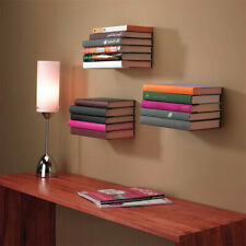 Stainless Floating Shelf Bookrack Storing And Displaying Your Books Space Saving