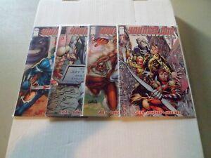 2008 Youngblood COMPLETE SET of 4 Comic Books (1A-2B-3A-4B) NM/1ST!! (Joe Casey)