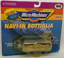 Micro Machines Ship in a Bottle New Jersey Galoob