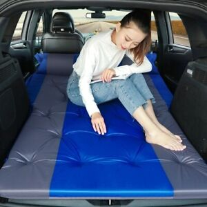 2020 Car inflatable travel mattress bed back seat multifunctional pillow outdoor