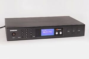 ~~~ Excellent++ Sangean HDT-1 HD AM/FM Stereo Radio Component Tuner w/Remote ~~~