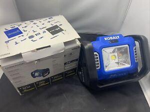 Kobalt 24V 2000-Lumen LED Rechargeable Portable Work Light(bare Tool)