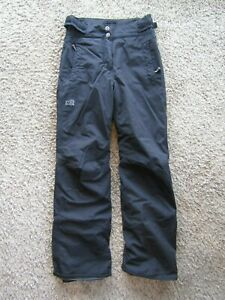 Millet Mountain Women's Winter Pants Snow Board Ski Black Polyester Gaiter XS