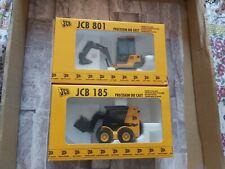 Joal JCB 801 & JCB 185 1:35 Scale Model Bundle