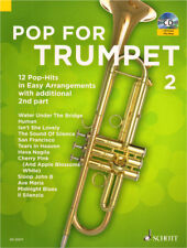 Pop for Trumpet Band 2 für 1-2 Trompete(n) Noten mit CD