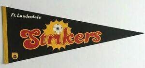 Vintage Ft. Lauderdale Strikers Pennant 12x30 North American Soccer League NASL