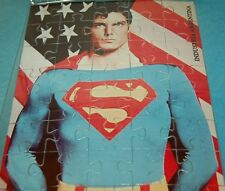 SUPERMAN Christopher Reeve COLLECTIBLE JIGSAW PUZZLE COLLECTIBLE ARGENTINA