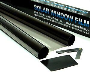 ULTRA LIGHT 70% LVT ROAD LEGAL BLACK CAR WINDOW TINT FILM TINTING 3m x 76cm