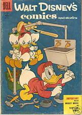 WALT DISNEY COMICS STORIES #181 1955 BARKS Donald Duck