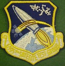 U.S. Air Force 6595th Satellite Test Group Patch