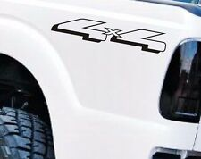FORD RANGER 4x4 BEDSIDE TAILGATE VINYL DECAL STICKER TRUCK  BLACK or WHITE