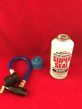 R134a, Super Seal AC PRREFRIGERANT STOP LEAK Metal & Rubber Repair Kit QUEST 325