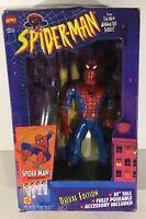 "Toy Biz Spider-Man Animated ""Spider-Man"" 10 Inch Deluxe Edition Action Figure"