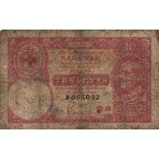 SARAWAK - 10 DOLLARS   1940  P.24