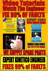 ⭐⭐⭐ Kinetico Water Softener Seal Kits Rebuild Video/Resin Video ⭐⭐⭐