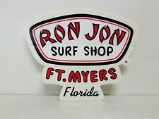Ron Jon Surf Shop Ft. Myers Florida Large New Sticker Surfing Car Decal