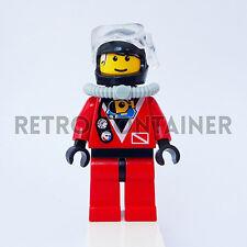 LEGO Minifigures - 1x div018 - Diver - Divers Omino Minifig Set 6441 6442