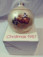 """Vintage 1987 Schmid """" Angelic Gifts"""" Christmas Ornament Inspired by Berta Hummel"""