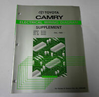 Workshop Manual Electric/Electrical Wiring Diagram Toyota Camry from 10/1990