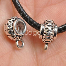 30pcs Tibetan Silver Charms Bail Connector Beads pendant Connectors Bead   A3546