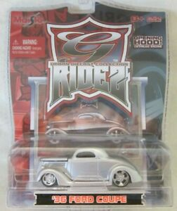 Maisto G-Ridez - '36 Ford Coupe - Silver - Urban Diecast Collection!