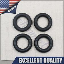 4 X Exhaust Pipe O-Ring Exhaust Tips Muffler Silencer Hanger Rubber Insulator US