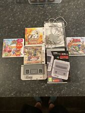 new nintendo 3ds xl SNES Edition Big Bundle