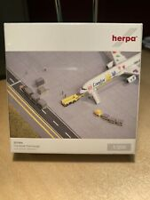 Herpa Wings 551564 Containerfahrzeuge container vehicles 1:200 OVP Modell