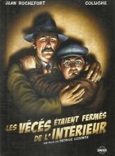 DVD + BD    LES VECES ETAIENT FERMES DE L'INTERIEUR (JEAN ROCHEFORT/COLUCHE)