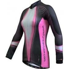 Ropa de ciclismo rosas para mujer