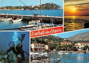 Cartolina Cavo Isola d' Elba vedute 1973