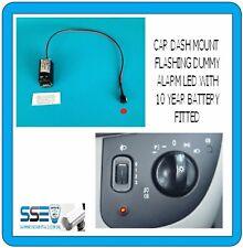 Car Alarm Dummy Flashing LED - No Wiring Required - Fit and Flash - 10 Yr Batt