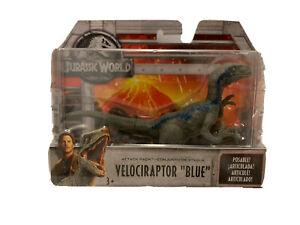 "NEW Jurassic World Attack Pack Velociraptor ""Blue"" Figure"