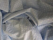 Lightweight Polyester Fabric Curtains Drapery Decor French Blue Floral 8 YDS 60W