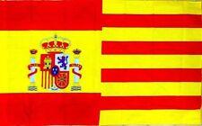 Bandera AAP mitad español mitad catalán 150x90cm España-Cataluña