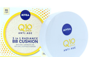 Nivea Q10 15ML 3IN1 Anti Aging BB Radiance Cushion Light 01