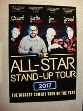 ALL STAR STAND-UP  - A5 TOUR FLYER, UK TOUR 2017