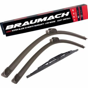Wiper Blades Aero For SsangYong Stavic VAN 2005-2014 FRONT PAIR & REAR