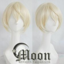 Cosplay Perücke Touken Ranbu The Sword Dance Halloween short blonde ANIME HAAR